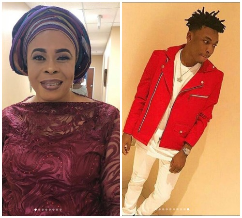 Actress, Toyin Adewale Displays Her Dancing Skills In Honour Of Her Son Artiste Mayorkun As He Turns A Year Older