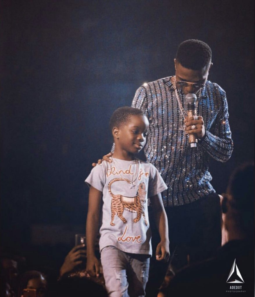 Wizkid's Son Boluwatife Will Be Going Independent As He Is Set To Release His Own Clothing Line