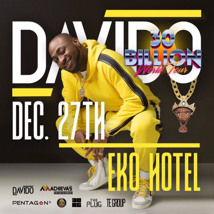 Organizer Of Davido's 30 Billion Concert Allegedly Banned From Eko Hotel