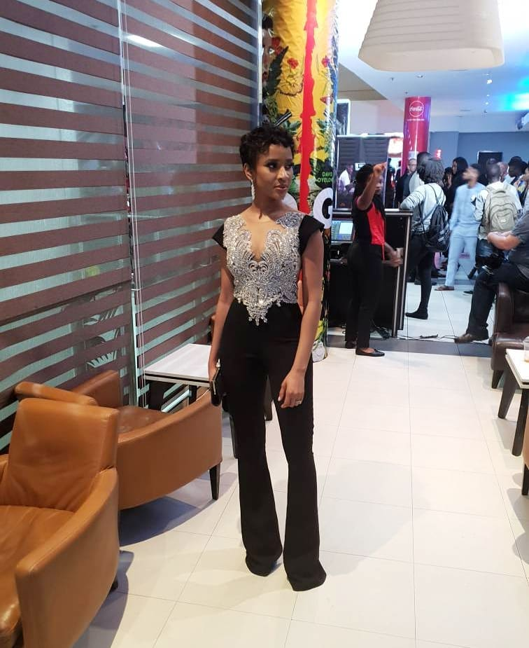 Adesua Etomi Is A Beauty In Her Outfit To The Premiere Of Her Latest Movie 'Date Night'