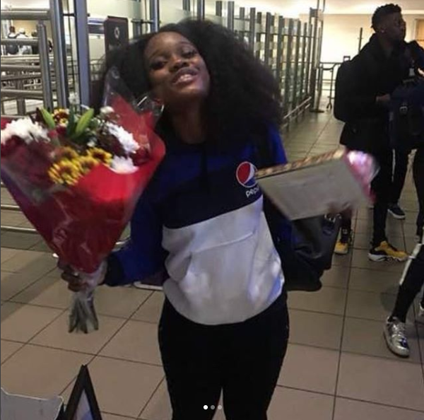 Watch How BB Naija 2018 Finalist Cee C Attacked At The Airport