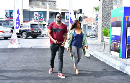 Dr. Sid & Wife Step Out For #AccelerateXJohnBoyega