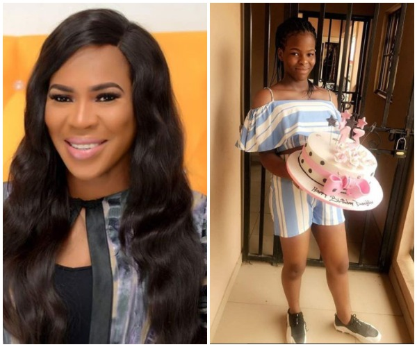 Actress, Fathia Williams Celebrates Daughter's 13th Birthday With Photos Of Her