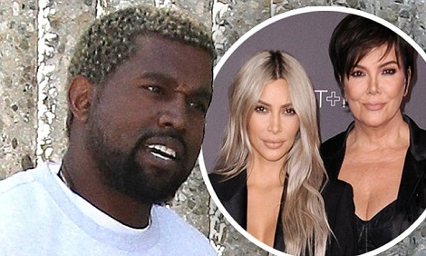 Kris Jenner Slams Claims She's Fighting Kanye Over Kim Kardashian