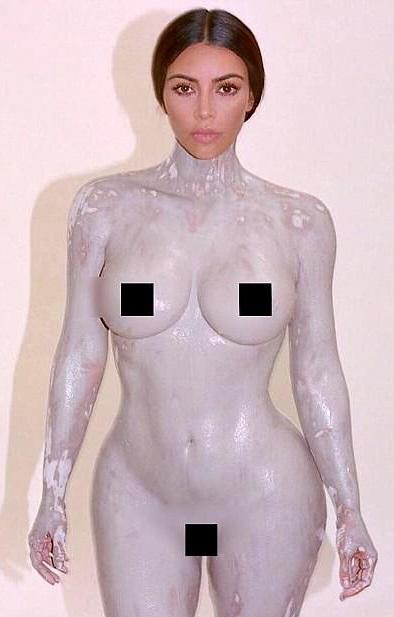 Kim Kardashian Strips Naked To Promotes Fragrance