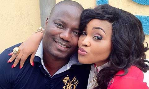 Mercy Aigbe's Estranged Husband's Congratulatory Messagae To Newly Wed Gabriel Afolayan Has A Hidden Message