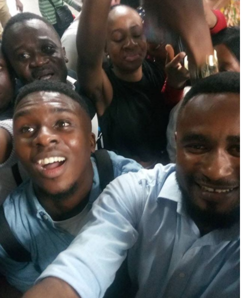 BB Naija 2018 Evicted Housemate Lolu Thrilled Fans When He Arrived At MM Airport