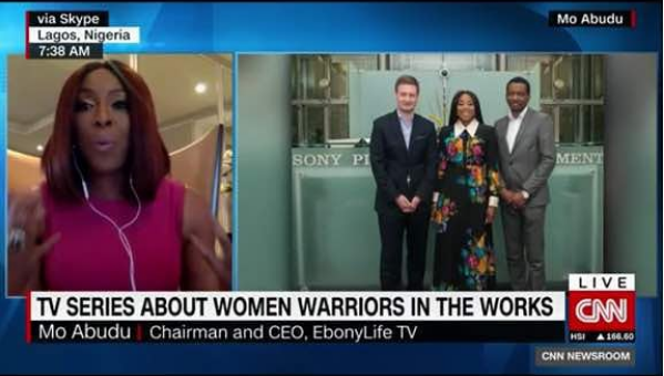 Mo Abudu Reveals Plans Of First EL TV Series To Be Distributed Worldwide In Latest CNN Interview