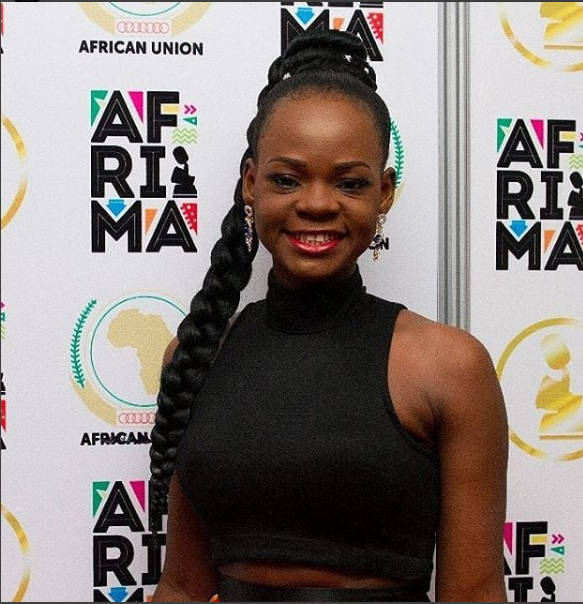 Olajumoke Orisaguna Looks Great As She Models At Arise Fashion Week