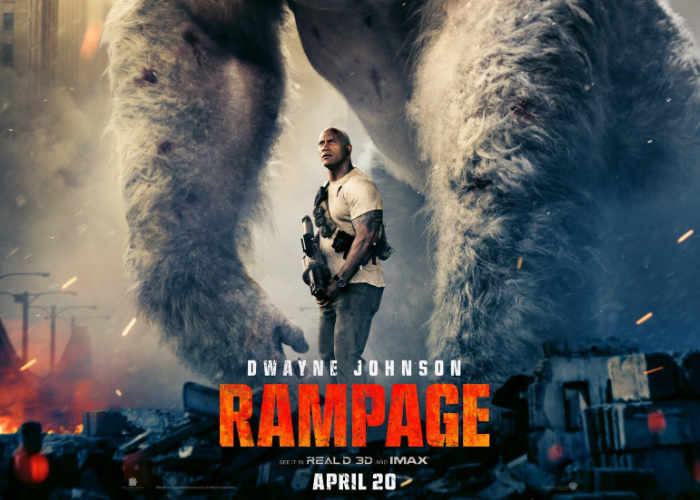 Dwayne Johnson Reveals Why He Used A Nigerian Name In His Latest Movie 'Rampage'