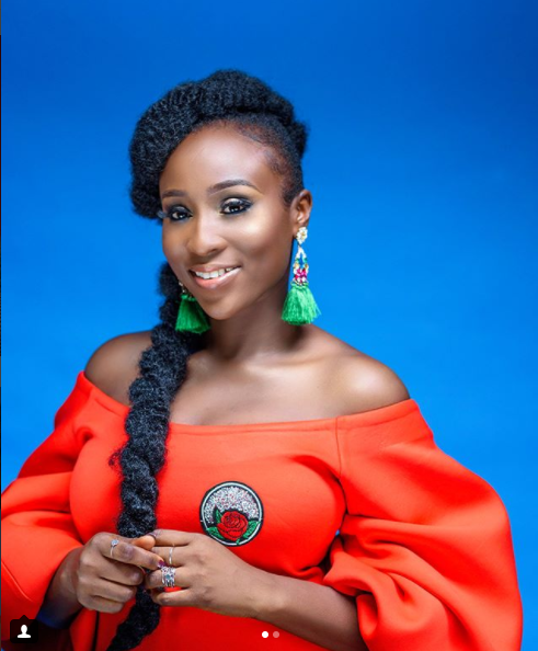 Singer Aramide Looks Beautiful In Orange As She Prepares To Release New Single