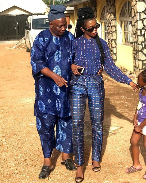 Former Oyo State Governor Rashidi Ladoja And Daughter Grace Ladoja Make Peace With Each Other