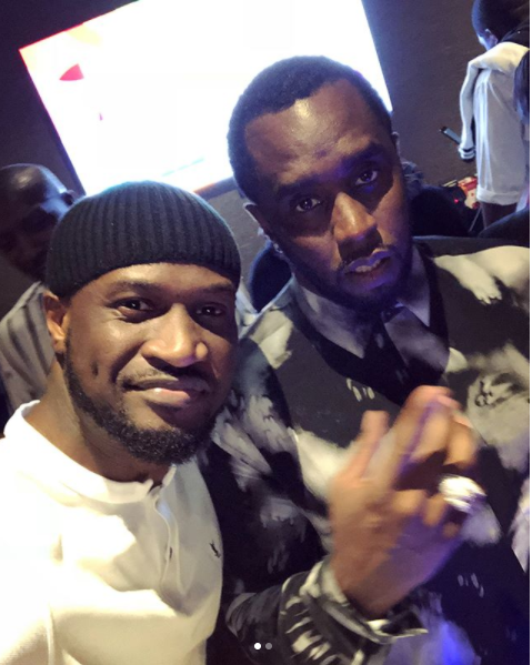 Watch Peter 'Mr P' Okoye Party Hard With Diddy And Cassie