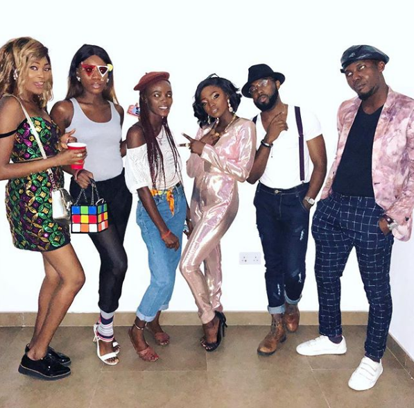 Lovely Photos From Simi's 80's Themed Birthday Party