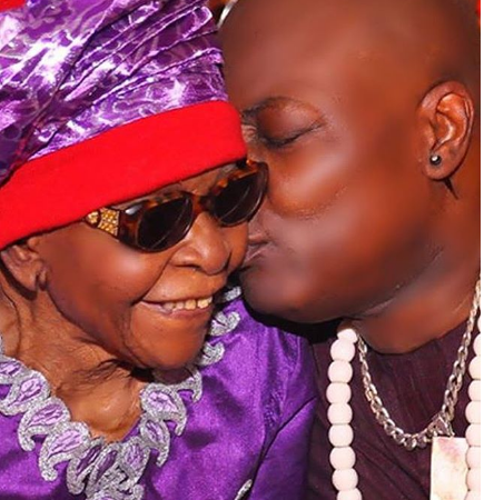 Charly Boy Celebrates His Vibrant Mother As She Turns 100 Years Old