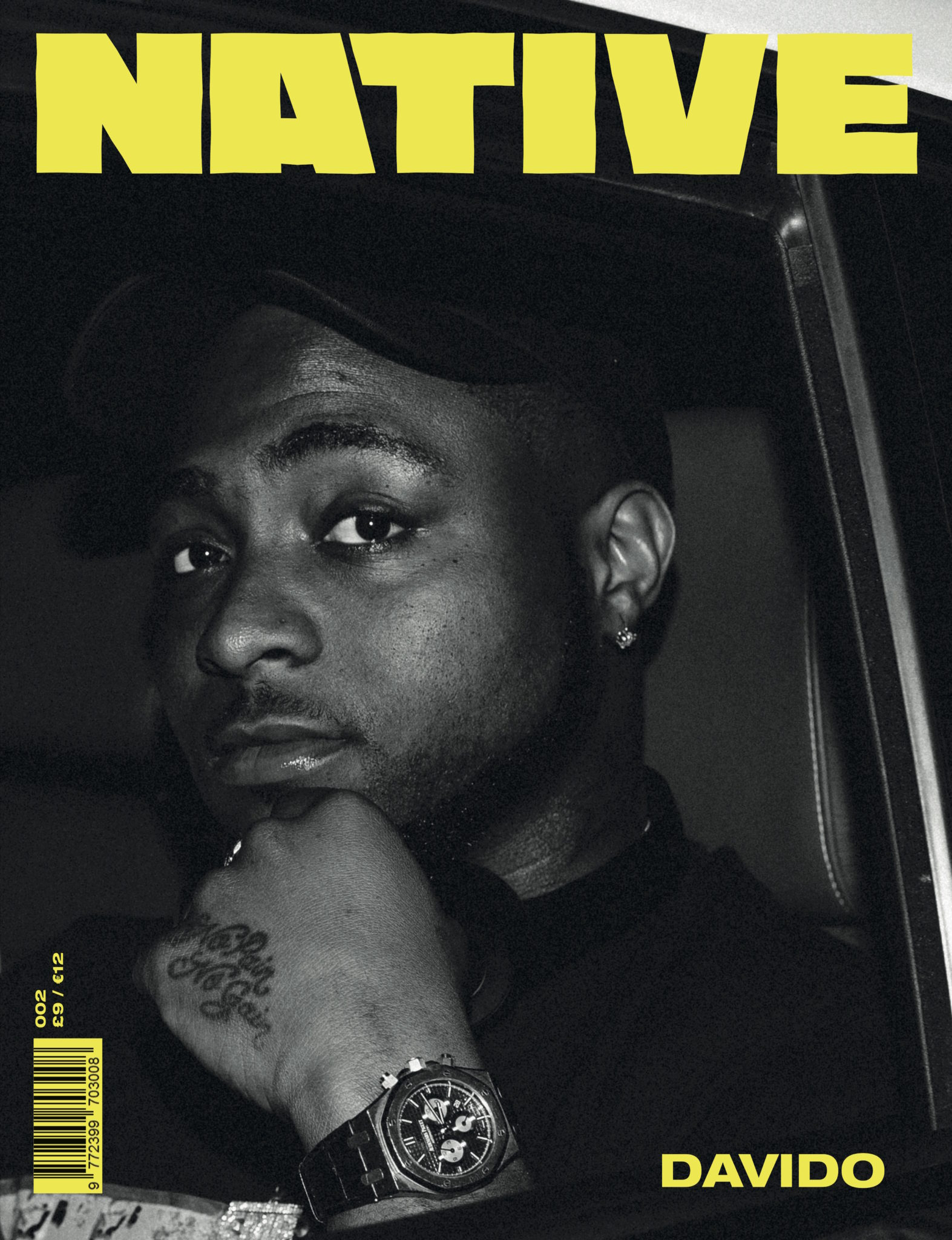 Davido Opens Up About How His Beef With Wizkid Ended In Latest Issue Of The Native Magazine