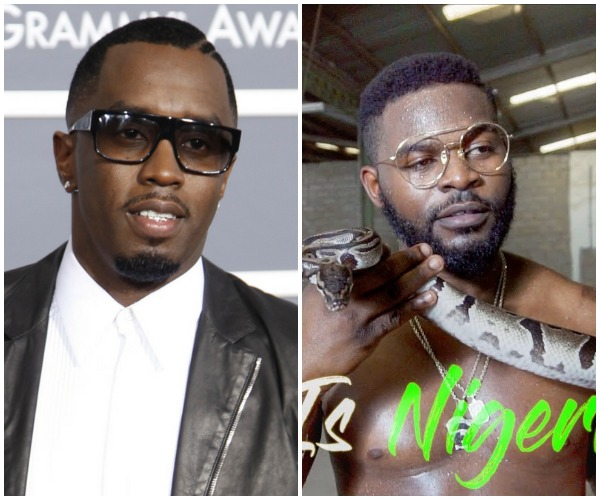 Hip Hop Mogul Diddy Shares His Thoughts On Falz Latest Video '#ThisIsNigeria'