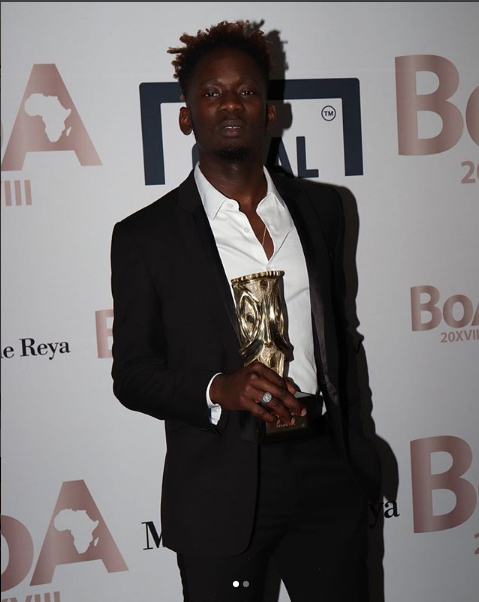 Mr Eazi Wins Best Of Africa Award