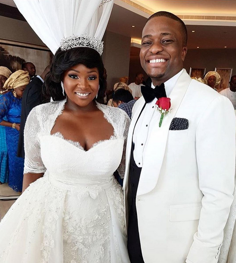Toolz And Husband Tunde Demuren Share Heartwarming Words As They Celebrate Their Wedding Anniversary
