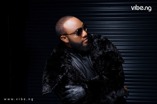 Photos Of Music Artiste KCee On The Cover Of Vibe Magazine