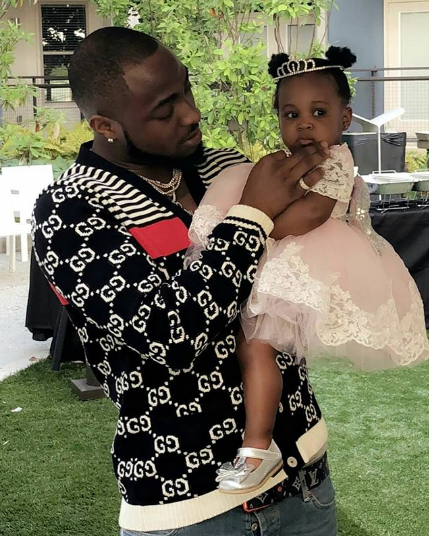 Davido Is Showing He Is A Good Father Figure As He Travels All The Way To Atlanta For His Daughter's Birthday