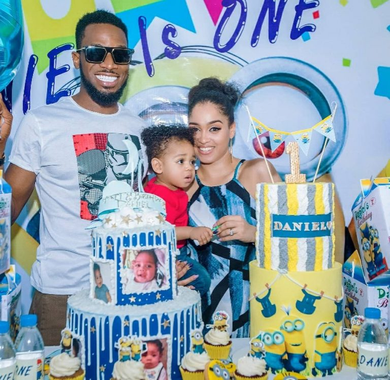 "D'banj's celebrates Son ""Daniel"" as he clocks One-Year old"