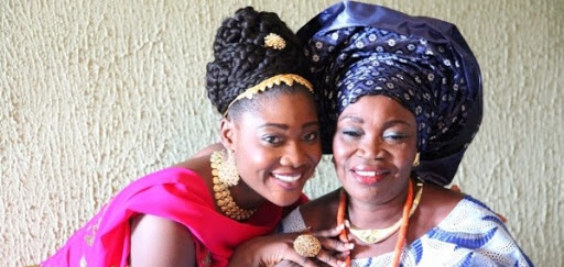 Nollywood Actress, Mercy Johnson Okojie In Mourning As She Announces The Death Of Her Mother