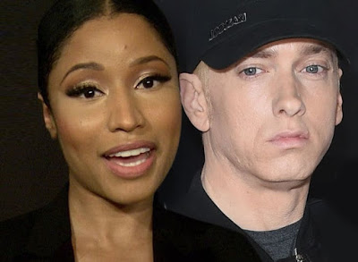 Nicki Minaj Jokes About Dating Eminem!