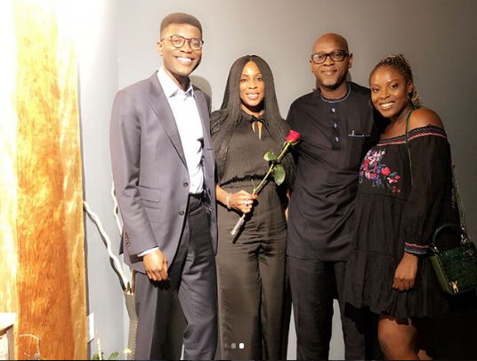 Media Mogul Mo Abudu Is A Proud Mother As Her Son Graduates From Duke University