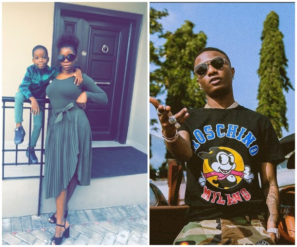 Wizkid's Baby Mama, Sola Ogudu Shades Him For Not Taking Care Of His First Son, Boluwatife Enough