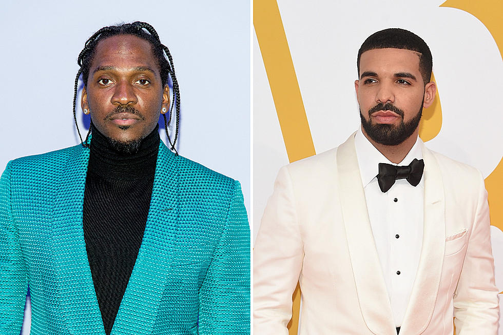 Drake And Pusha T's Battle Gets Hotter As Pusha T Releases A Diss Track About Drake's Secret Son