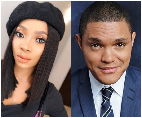 Toke Makinwa Reacts To Trevor Noah's Joke About Nigerian Uncles At The Royal Wedding