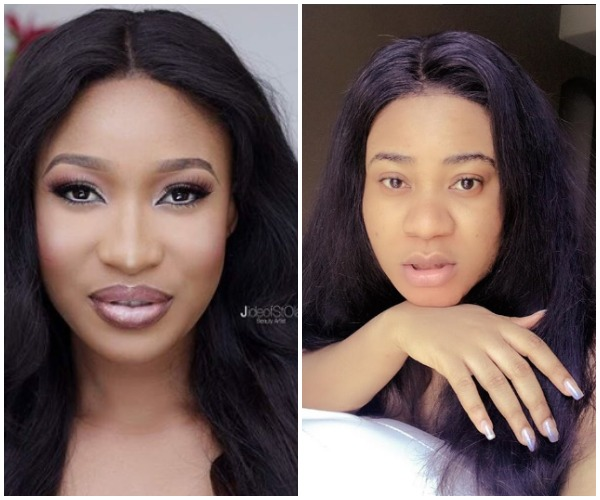 Watch Actresses Tonto Dikeh And Nkechi Blessing's Hilarious Reaction To Toyin Abraham's Engagement