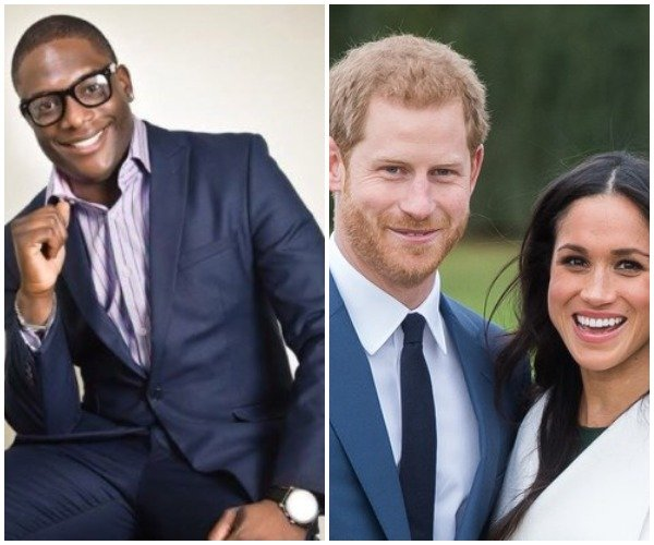 Nigerian Comedian, Wale Gates Has This To Say About Prince Charles Walking Meghan Markle Down The Aisle