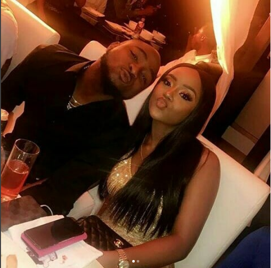 If 5years is sudden, Then ok!!!- Davido replies fan who feels her sudden love for Chioma is wrong