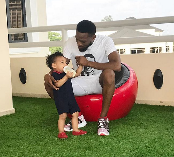 Don Jazzy, Tonto Dikeh, Frank Amudo others mourn the death of DBANJs 13 months old son