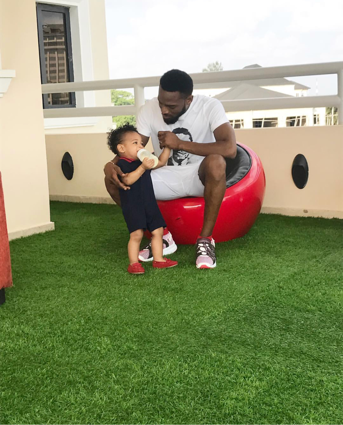 OMG!!! Dbanj Loses 1 Year Old Son Daniel