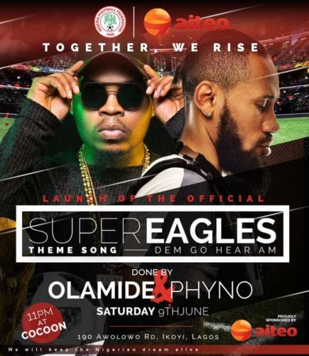 "Music: Olamide x Phyno – Road To Russia 2018 ""Dem Go Hear Am"""