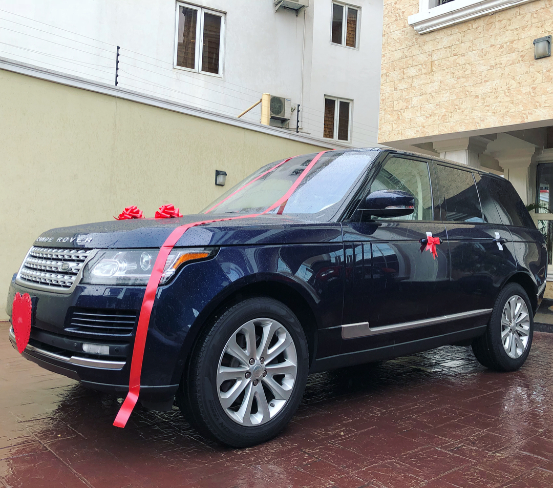 Peter Okoye Gifts Wife Lola Brand New Ranger Rover