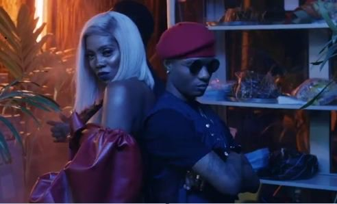 Wizkid And Tiwa Savage About To Make Magic Again As They Hint A Possible Collaboration