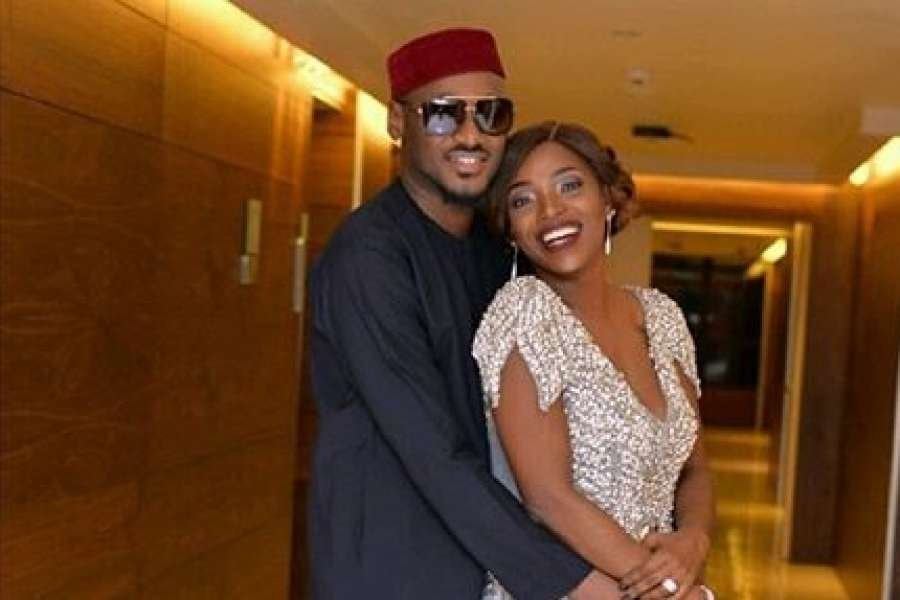 See Annie Idibia And Davido's Reaction When 2face Posts 'He Likes Woman'