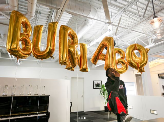 Burna Boy Scores Big As He Signs With Universal Music Publishing Group