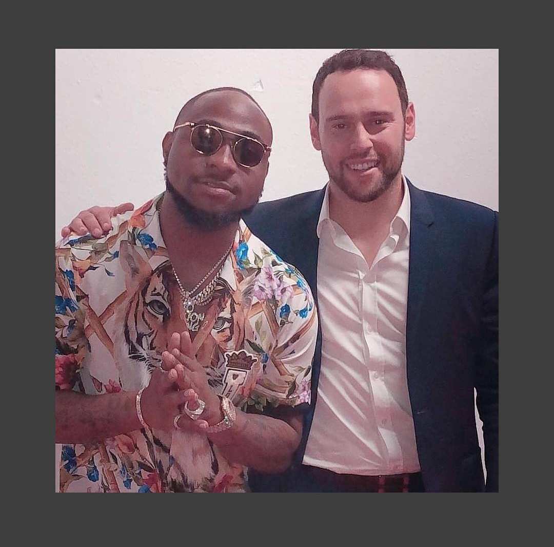 Davido Reportedly Signs Big Money Management Deal With Scooter Braun