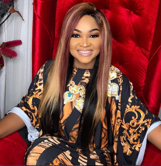 Nollywood actress Mercy Aigbe is a proud owner of a brand new house.