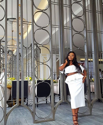 Rita Dominic, Ireti Doyle, Gideon Okeke, Bisola Aiyeola And More Stun In All White At Moet & Chandon Grand Day Party