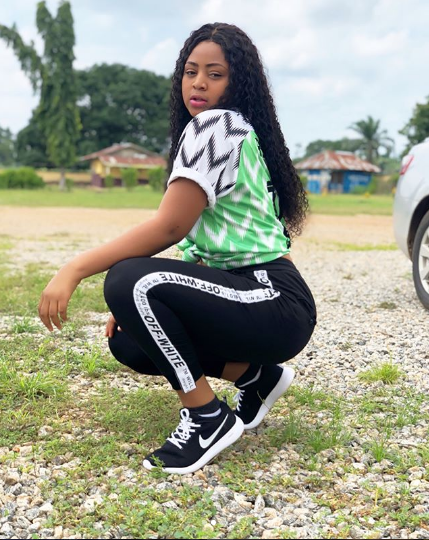Child Actress Regina Daniels Rocks The Nigerian Jersey With Style In Latest Photos