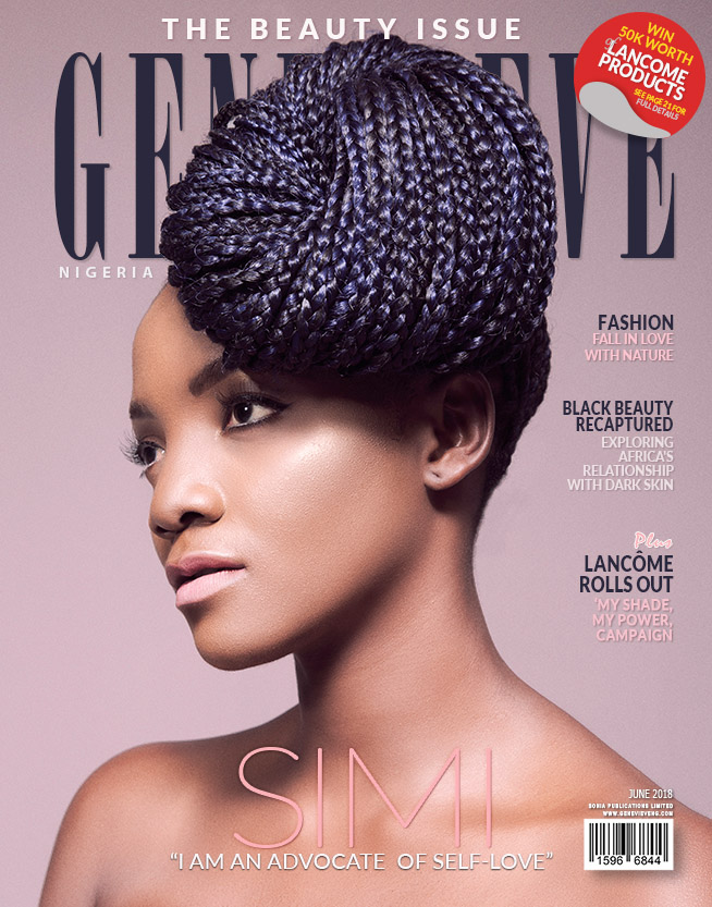 Simi Is Radiant And Beautiful As She Covers Genevieve Magazine's June Issue