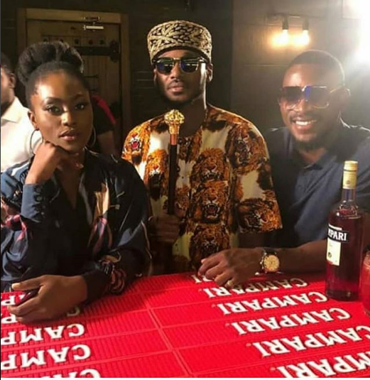 Watch Tobi Bakre Show His Charismatic Self In His First TV Advert With 2Face Idibia And Linda Osifo