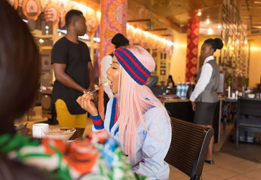 Photos From Tonto Dikeh's Birthday Breakfast With Close Friends