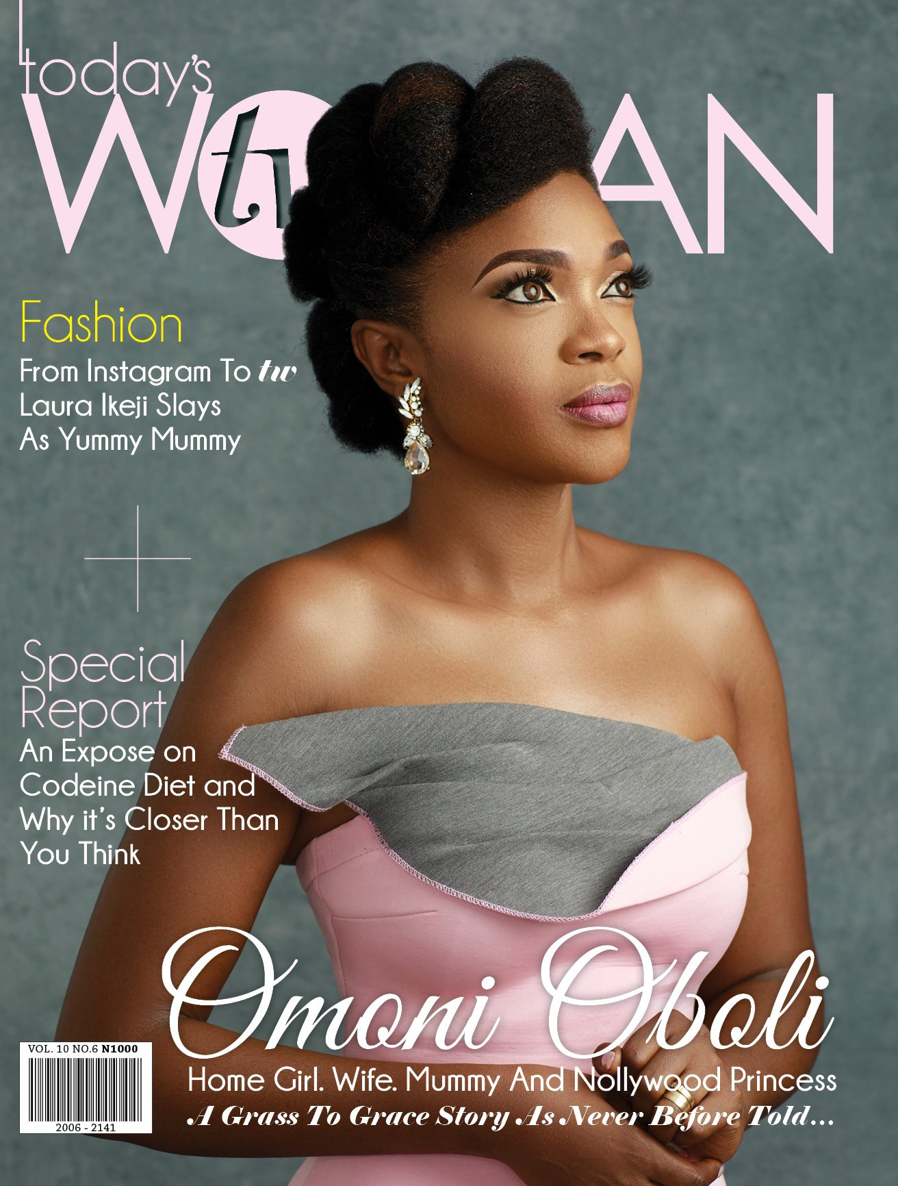 omoni oboli is a true definition of grace and poise as she covers tw